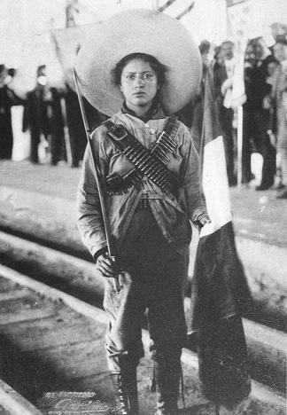 Mexikanische Revolutionärin (Adelita)