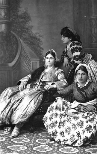 Albanische Tracht um 1900