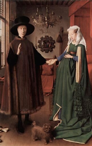Jan van Eyck: Die Arnolfini-Hochzeit, 1434