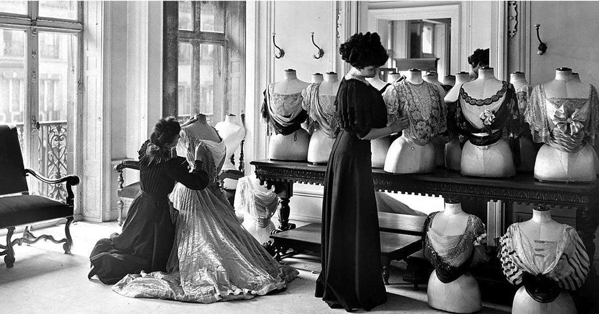 Modegeschichte haute couture - Chambre syndicale de la haute couture parisienne ...