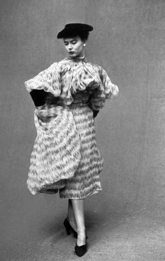 Modell von Cristobal Balenciaga