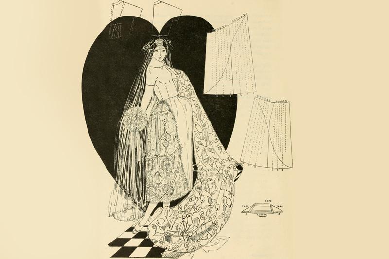 Modegeschichte: Das Brautkleid