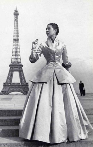 Modell von Christian Dior, 1947