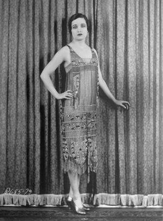 Foto von Flapperkleid 1926