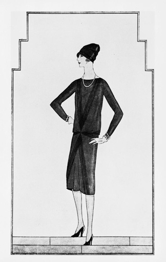 Illustration LBD Chanel, 1926