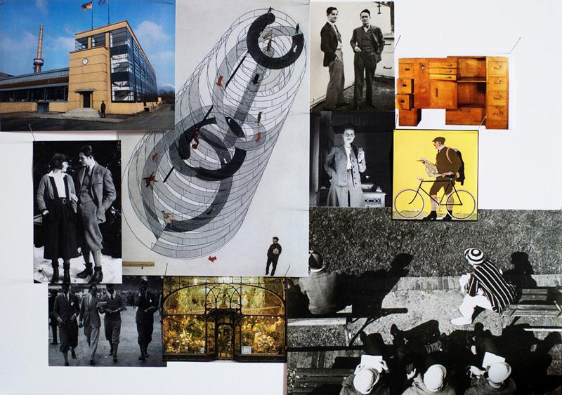Moodboard Bauhaus, László Moholy-Nagy, Walter Gropius