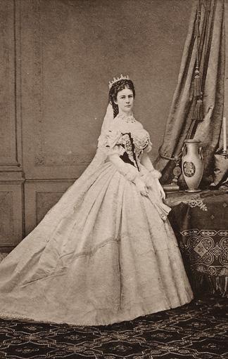 Elisabeth von Österreich-Ungarn an ihrem Hochzeitstag