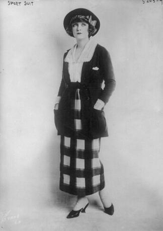 Foto von Sportkleid 1920