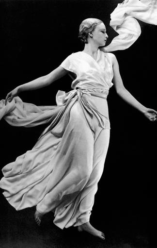 Modell von Madeleine Vionnet