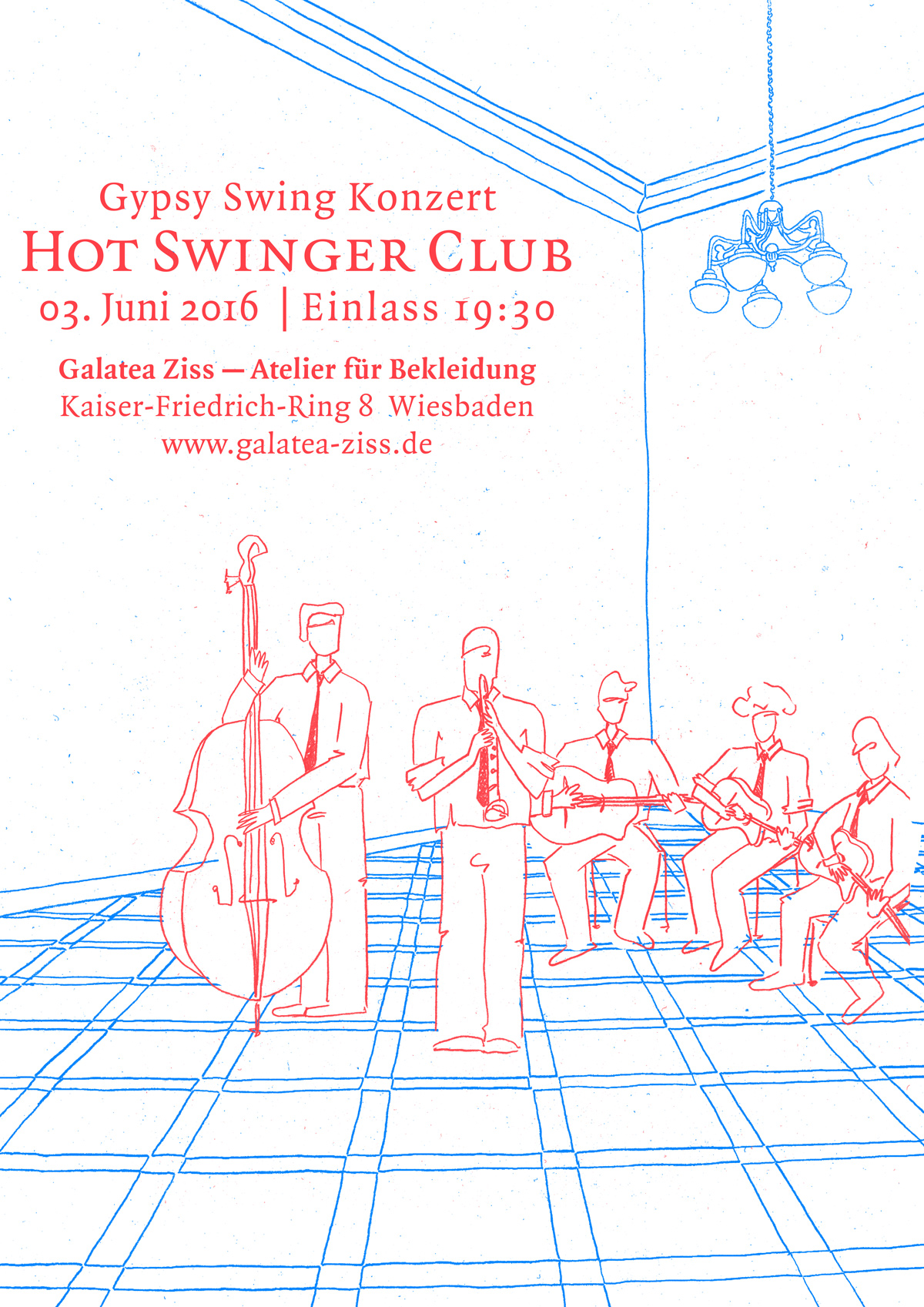 Gyspy Swing Konzert mit dem Hot Swinger Club